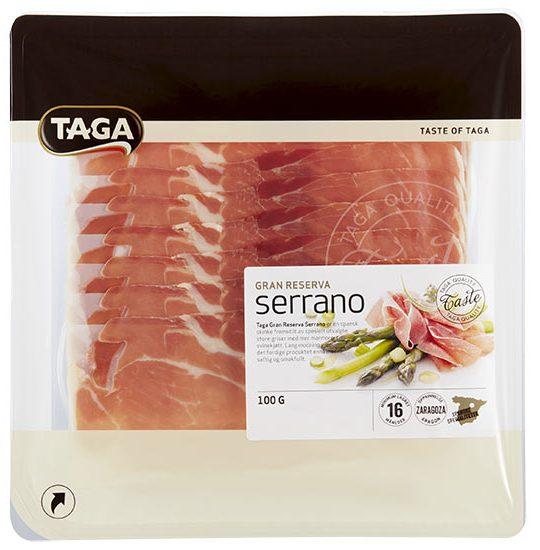 Taga Taste Serrano Gran Reserva 100g