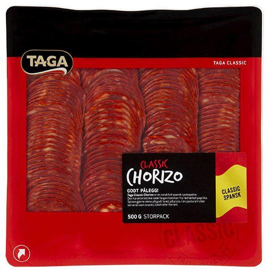 Taga Classic Chorizo 500 g